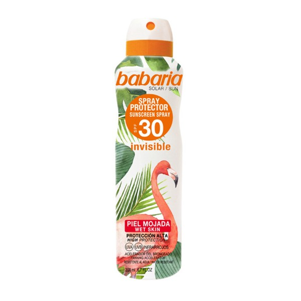 Babaria tropical sun spray protector spf30 200ml vaporizador