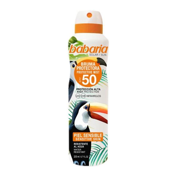 Babaria tropical sun bruma protectora spf50 200ml vaporizador