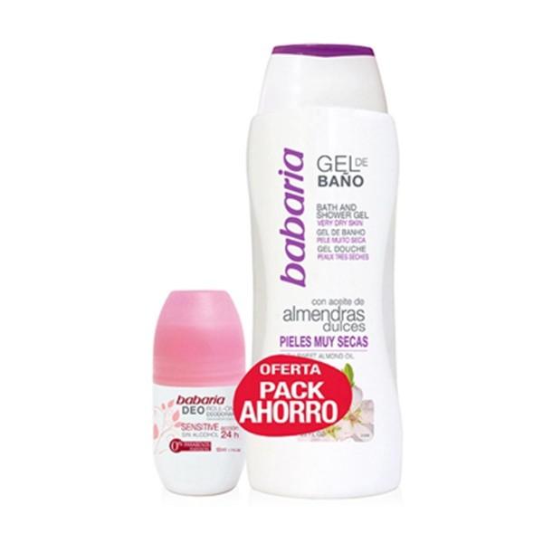 Babaria almendras dulces gel de ducha + desodorante 50ml