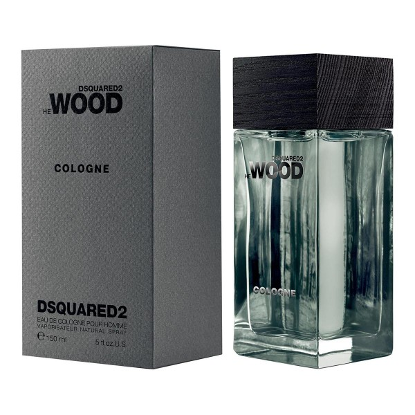 Dsquared wood men eau de cologne 150ml vaporizador