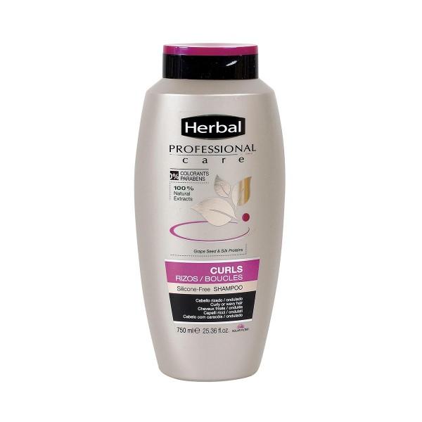 Herbal hispania professional care champu curls 750ml
