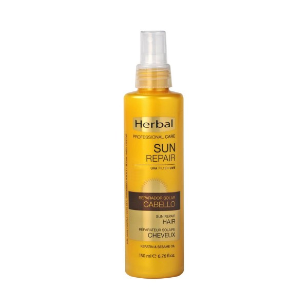 Herbal hispania sun repair protector solar cabello uva filter 150ml