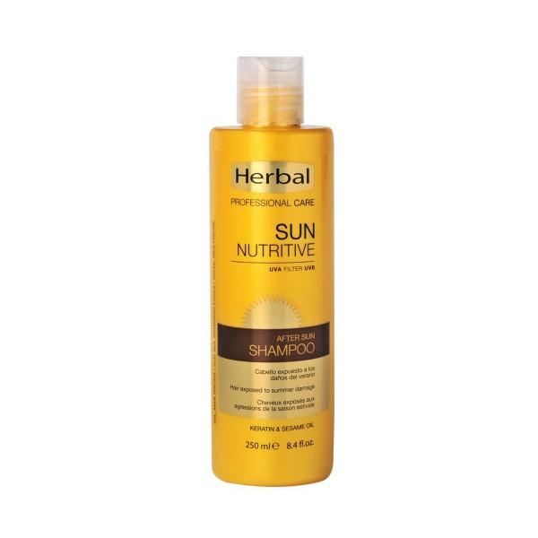 Herbal hispania sun nutritive champu nutritivo after sun uva filter 250ml