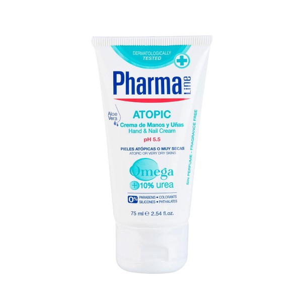 Pharmaline atopic crema de manos 75ml