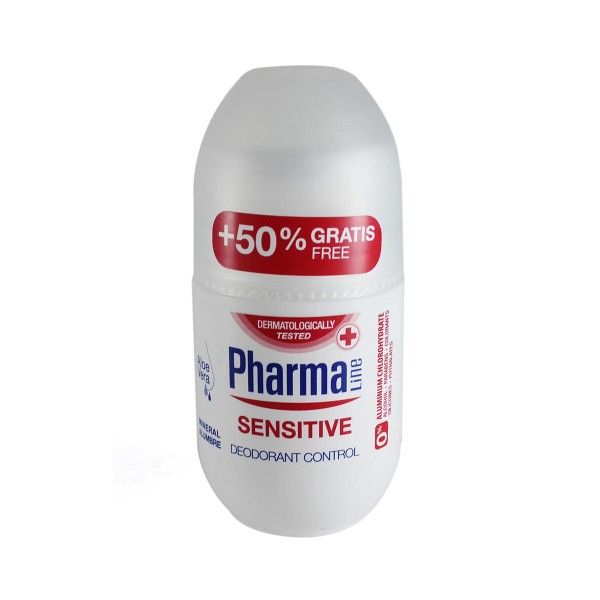 Pharmaline sensitive desodorante roll-on 50ml