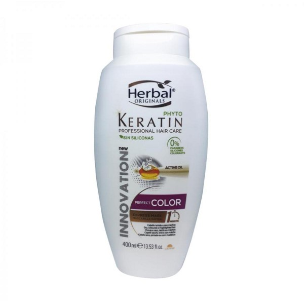 Herbal hispania originals phyto-keratin champu perfect color sin silicona 400ml