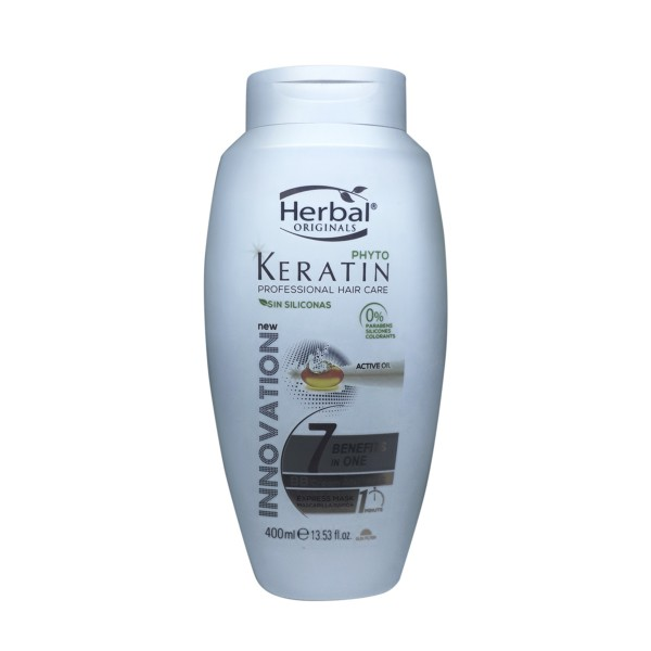 Herbal hispania originals phyto-keratin mascarilla 7 benefits in one bb cream anti-edad ex 400ml