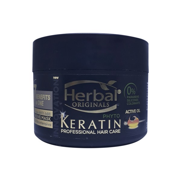 Herbal hispania originals phyto-keratin mascarilla 7 benefits in one bb cream anti-edad in 300ml
