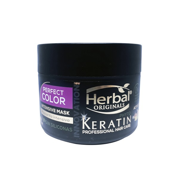 Herbal hispania originals phyto-keratin mascarilla perfect color intensive 300ml