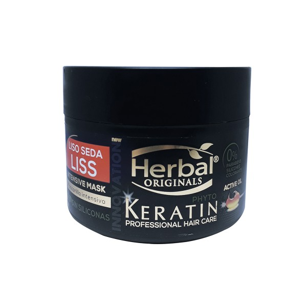 Herbal hispania originals phyto-keratin mascarilla liss intensive 300ml