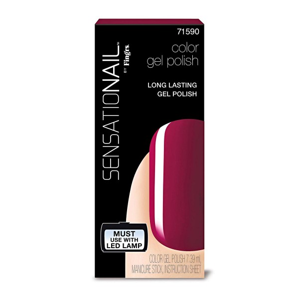 Sensationail sensationail laca de uñas sugar plum