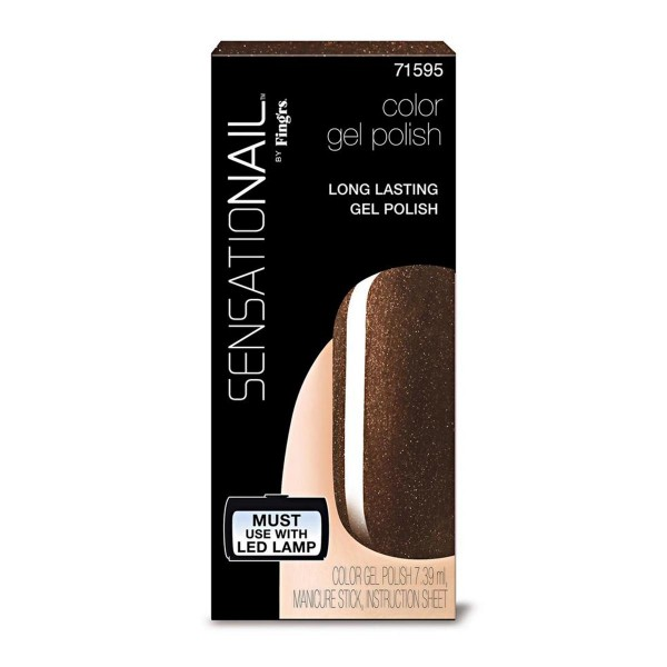 Sensationail sensationail laca de uñas espresso bean