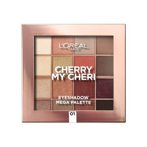 L'oreal cherry my cheri sombra de ojos 01