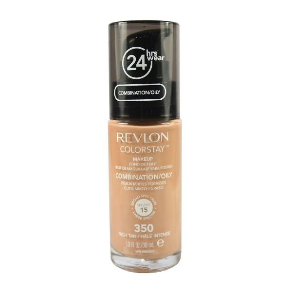 Revlon colorstay liquid pump fond de teint 350 rich tan 35.79gr