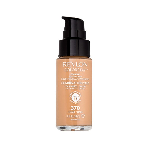 Revlon colorstay liquid oily fond de teint 370 toast 35.79gr