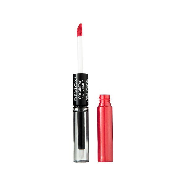 Revlon colorstay overtime brillo de labios 040 forever scarlet 4.89gr