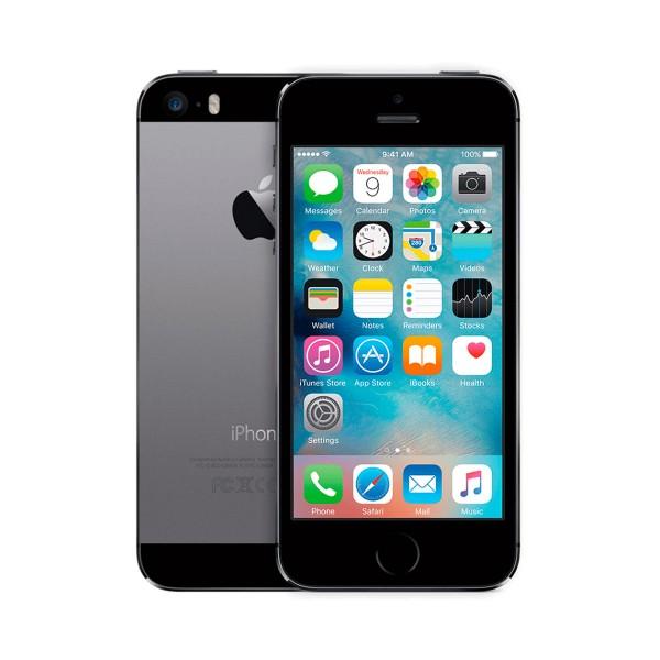 Apple iphone 5s 16gb gris espacial reacondicionado cpo móvil 4g 4'' retina ips/2core/16gb/1gb ram/8mp/1.2mp