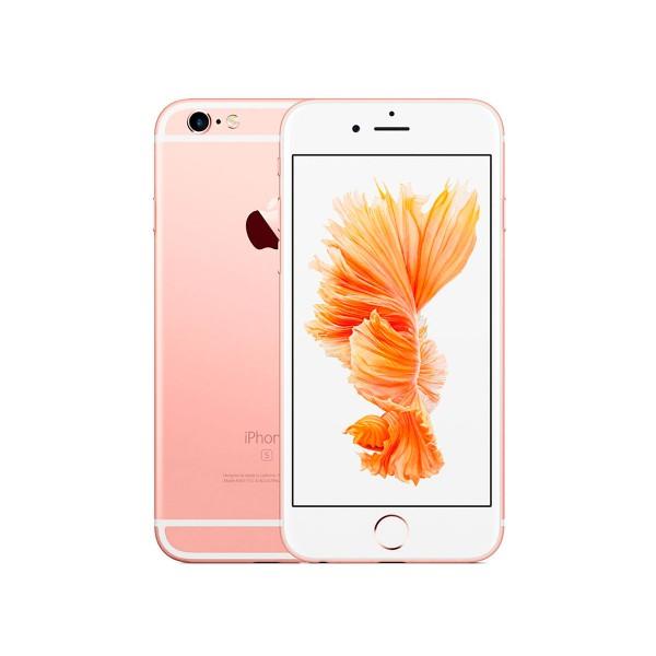 Apple iphone 6s 128gb oro rosa reacondicionado cpo móvil 4g 4.7'' retina hd/2core/128gb/2gb ram/12mp/5mp