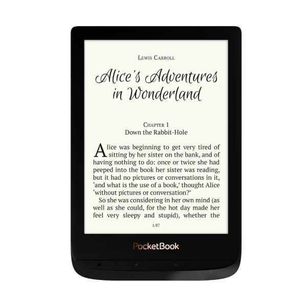 Pocketbook pb627-h touch lux 4 negro e-book libro electrónico 6'' e ink cart hd 8gb ranura microsd wifi