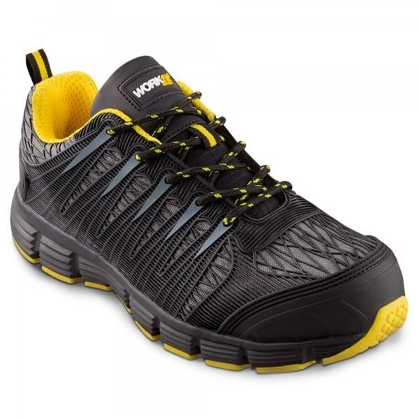Zapato seg. workfit spider amarillo n.37