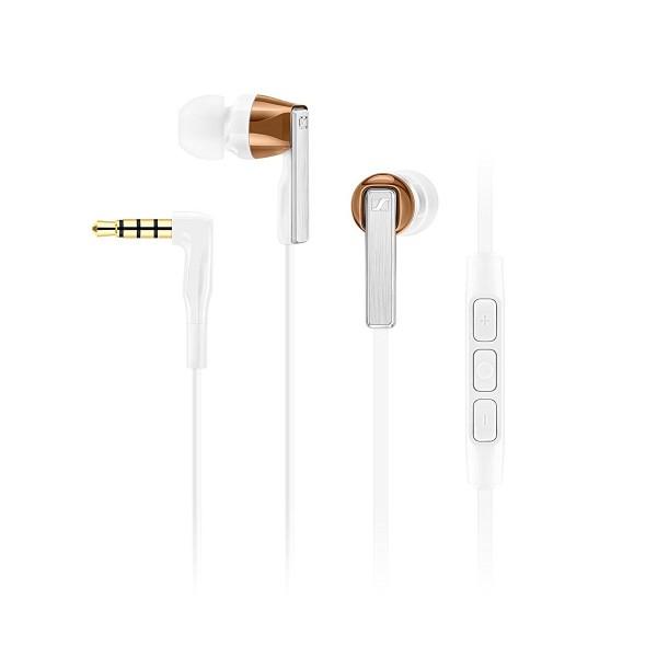 Sennheiser cx 5.00g blanco auriculares de botón con manos libres para android