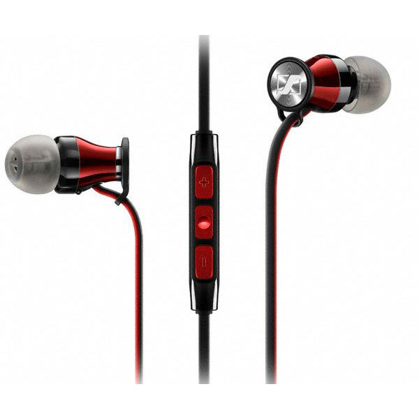 Sennheiser momentum me 2 ieg rojo auriculares intraurales