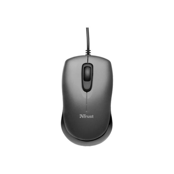 Trust evano compact mini ratón óptico
