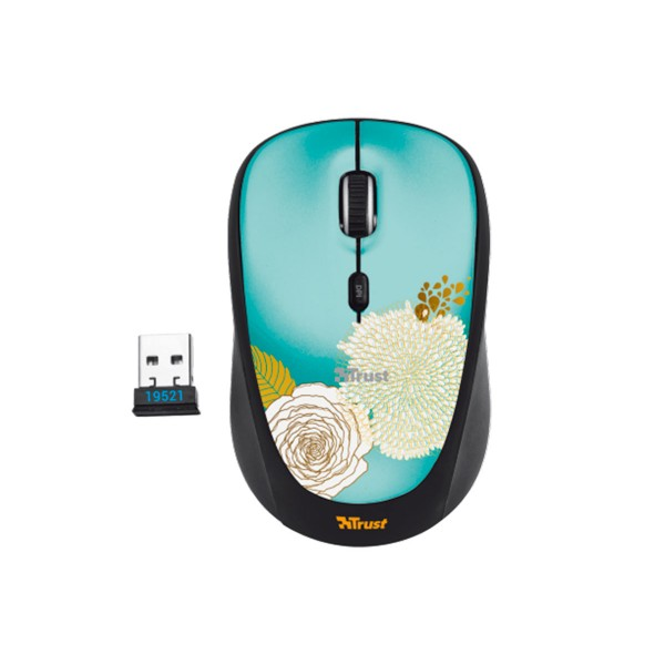 Trust yvi wireless flower ratón inalámbrico usb