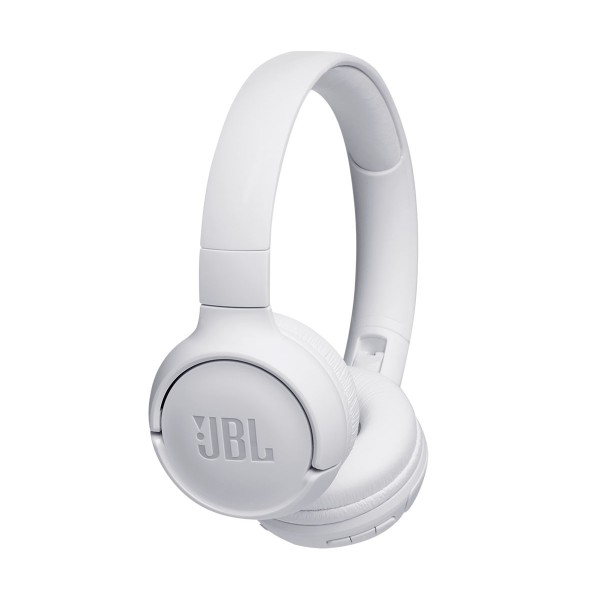 Jbl tune 500 bt blanco auriculares inalámbricos bluetooth multipunto jbl pure bass