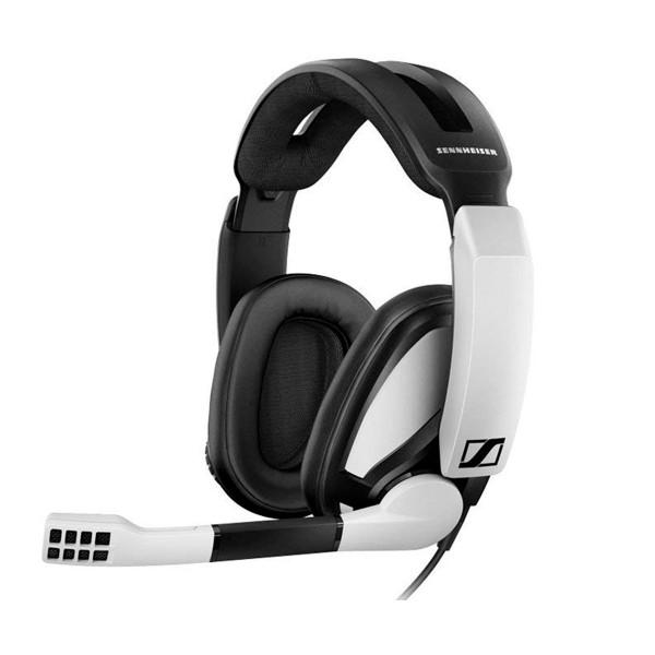Sennheiser gsp 301 blanco auriculares con micro para gaming ajustable con diadema multiplataforma