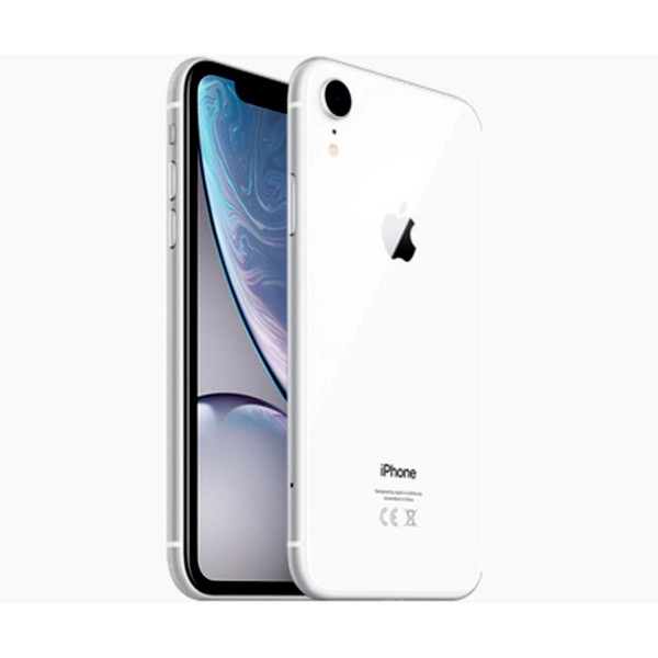 Apple iphone xr 64gb blanco móvil 4g 6.1'' liquid retina hd led hdr/6core/64gb/3gb ram/12mp/7mp