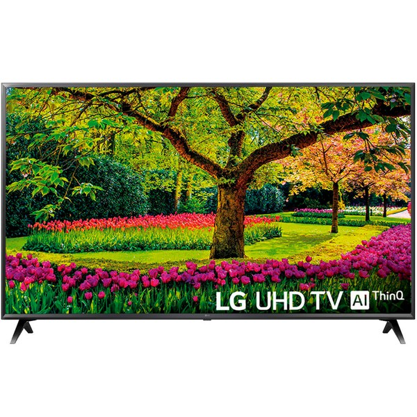 Lg 55uk6300plb televisor 55'' 4k con inteligencia artificial lg thinq ai google asistant 1600hz smart tv webos 4.0 wifi bluetooth