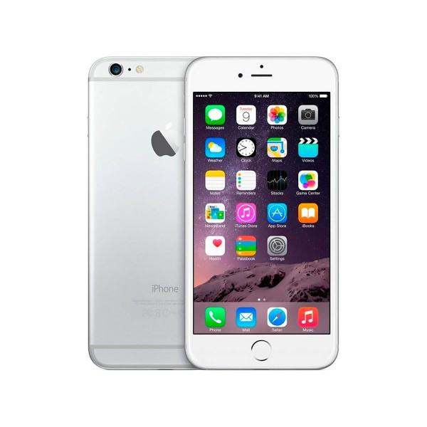 Apple iphone 6 16gb plata reacondicionado cpo móvil 4g 4.7'' retina hd/2core/16gb/1gb ram/8mp/1.2mp