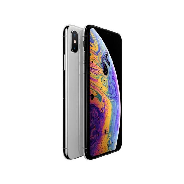 Apple iphone xs 64gb plata móvil 4g 5.8'' super retina hd oled hdr/6core/64gb/4gb ram/12mp+12mp/7mp