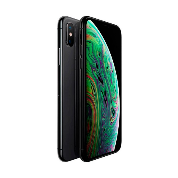 Apple iphone xs max 64gb gris espacial móvil 4g 6.5'' super retina hd oled hdr/6core/64gb/4gb ram/12mp+12mp/7mp