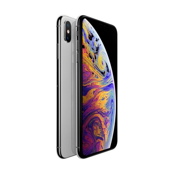 Apple iphone xs max 64gb plata móvil 4g 6.5'' super retina hd oled hdr/6core/64gb/4gb ram/12mp+12mp/7mp