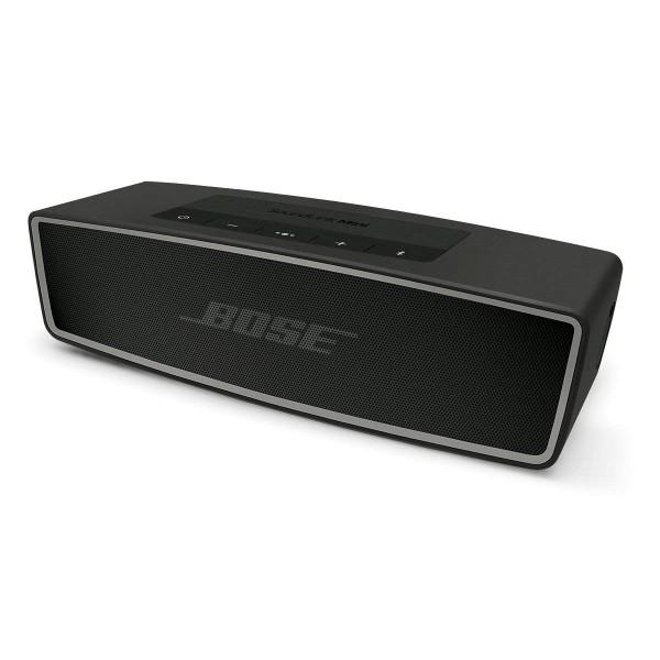 Bose soundlink mini carbón altavoz inalámbrico bluetooth aux sonido de calidad superior