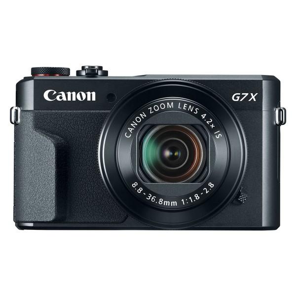 Canon powershot g7 x mark ii cámara 20.1mp, gran angular, pantalla táctil, wifi y nfc