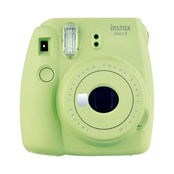 Fujifilm instax mini 9 verde lima cámara instantánea con flash