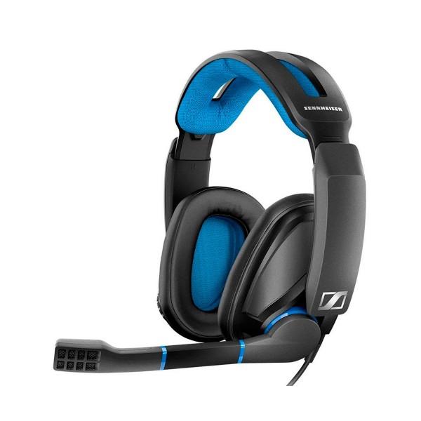 Sennheiser gsp 300 negro/azul auriculares para gaming con micrófono