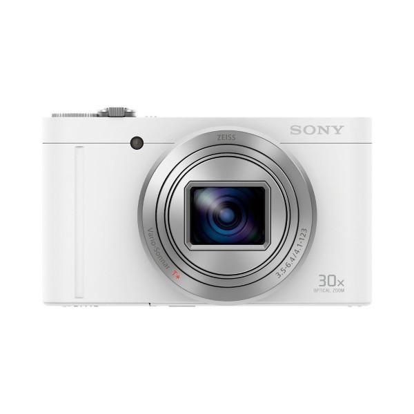 Sony dscwx500w cámara de fotos compacta 18.2mp zoom 30x blanca
