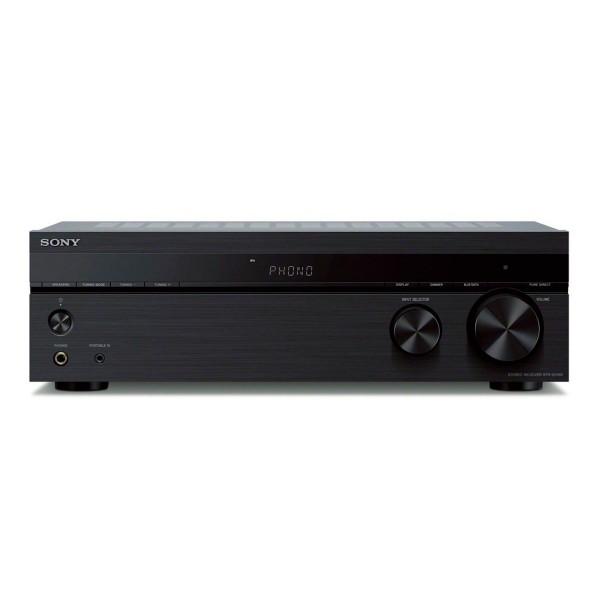 Sony str-dh190 receptor estéreo 2ch 200w entrada phono para tocadiscos conectividad bluetooth