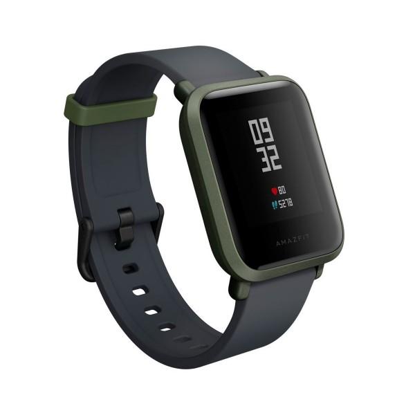 Xiaomi amazfit bip verde smartwatch 1.28'' wifi gps bluetooth pulsómetro notificaciones inteligentes