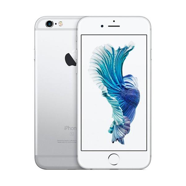 Apple iphone 6s 16gb plata reacondicionado cpo móvil 4g 4.7'' retina hd/2core/16gb/2gb ram/12mp/5mp