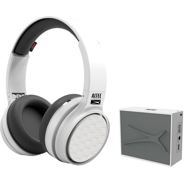 Altec lansing play & party pack blanco auriculares ring n go y altavoz pocket inalámbricos bluetooth