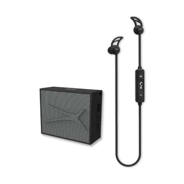 Altec lansing urban sound pack negro auriculares snake boton y altavoz pocket inalámbrico bluetooth