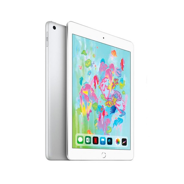 Apple ipad (2018) 32gb wifi plata tablet wifi 9.7'' retina/32gb/2gb ram/8mp/1.2mp