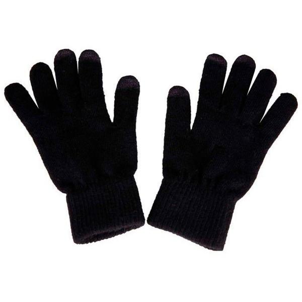 Akashi altgloveblf guantes tactiles unisex negros