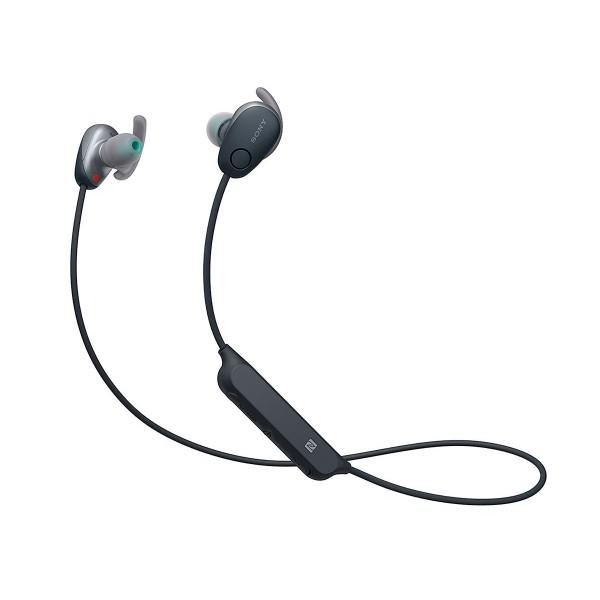 Sony wi-sp600 negro auriculares inalámbricos bluetooth nfc noise cancelling micrófono integrado con función manos libres