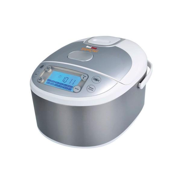 Superchef maxicook cf105-s2 robot de cocina 980w 5l capacidad 11 funciones + selección comida